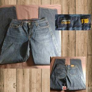 J Crew Bootcut Blue Jeans Size 10 Tall